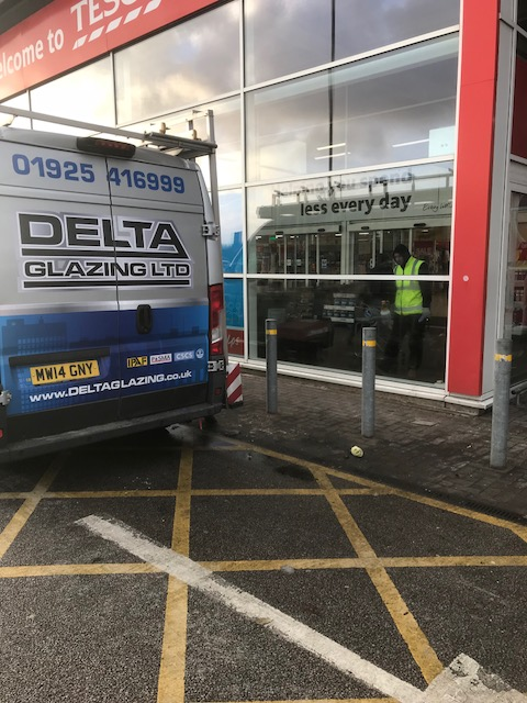 Delta Glazing - Tesco Emergency Repair