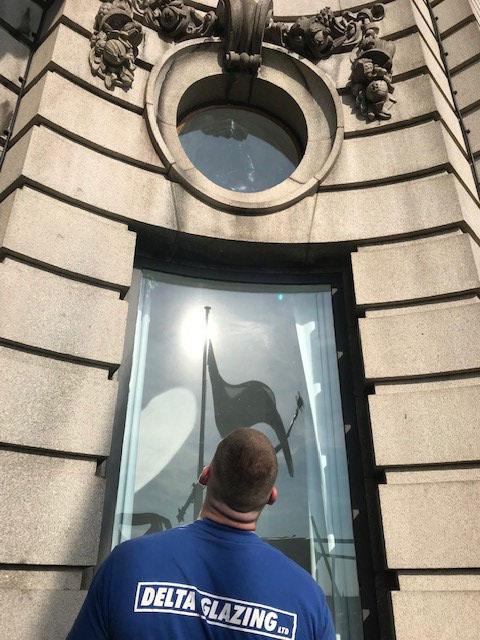 Delta Glazing - Royal Liver Building, Liverpool