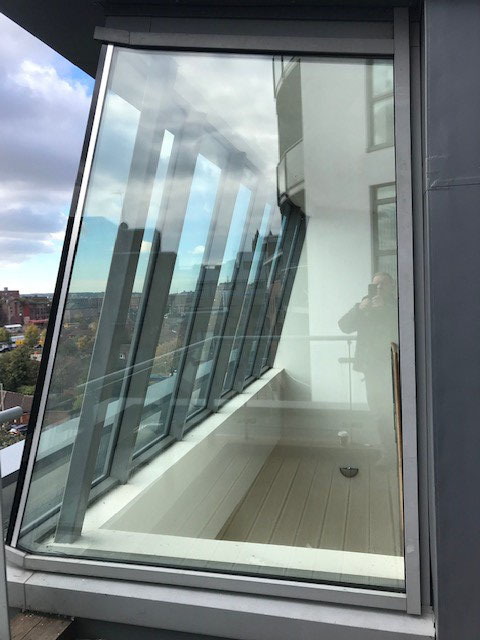 Repaired double glazed unit