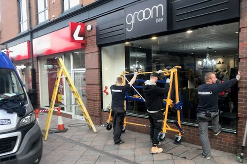 Shop Front Window Repair